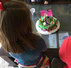 Le gâteau sur commande de Marraine