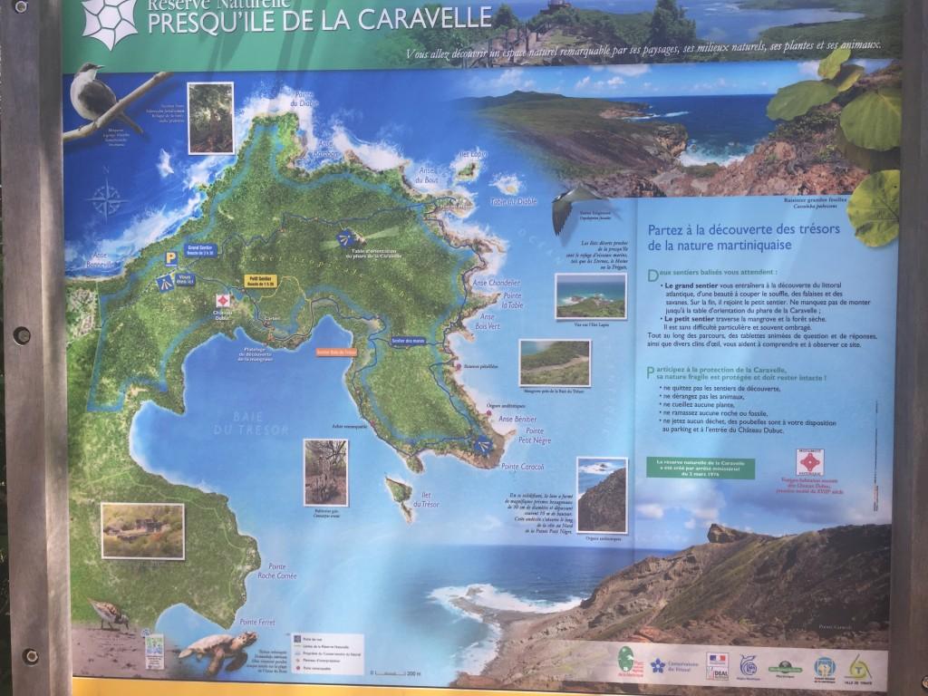Presque'Île de la Caravelle